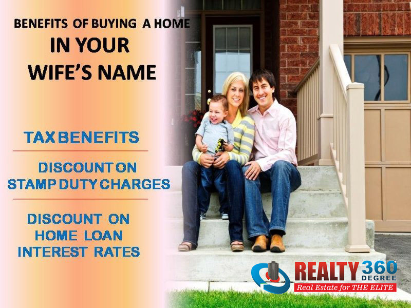 Wife Name Property Benefits