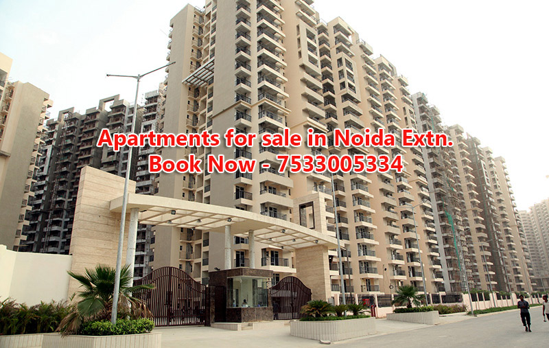 Apartments for sale in Noida Exten