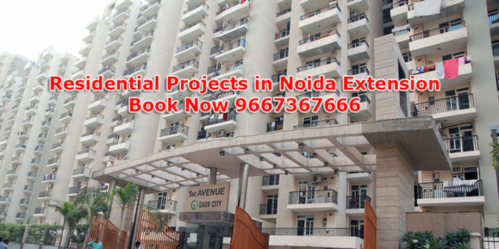 residential projects in noida extension
